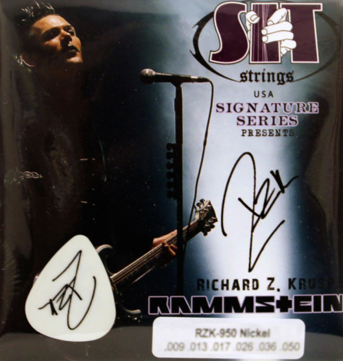 RZK SIT (Stay In Tune) Signature guitar STRINGS